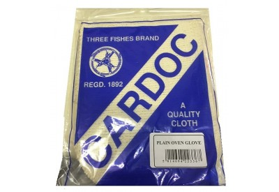 Cardoc 'Three Fishes Brand' Traditional Plain Oven Glove