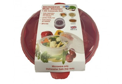 Good 2 Heat Microwave Multi-Steamer / Casserole Dish (1.5L)