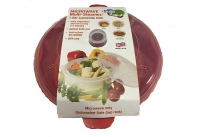 Good 2 Heat Microwave Multi-Steamer / Casserole Dish (1.5L)