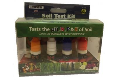 Soil test kit 60 tests for Soil nutrient test kit