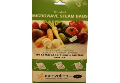 Innovation Microwave Steam Bags (30 Large)