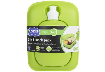 ADDIS 'Clip & Go' 2-in-1 Lunch Pack