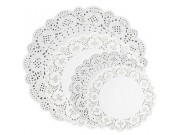 NJ Products Assorted Lace Paper Doilies (pack of 30)