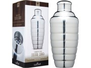 Bar Craft Luxe Lounge Stainless Steel Cocktail Shaker 500ml