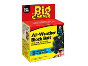 The Big Cheese All-Weather Block Bait (15 moisture resistant blocks)