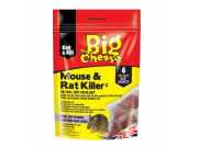 The Big Cheese Mouse & Rat Killer (6 pre-measured soft pasta sachets)