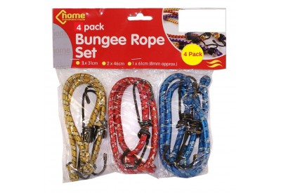 Home Connection Bungee Rope Set (4 pack)