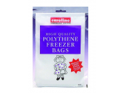 Caroline High Quality Polythene Freezer Bags (18 x 23cm / 7 x 9 inch) x 40