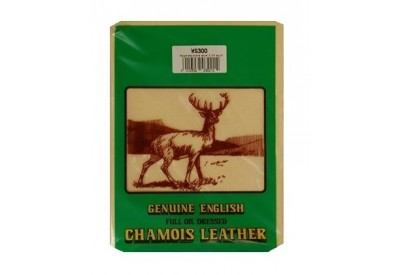 Chamois Leather - Genuine English Full Oil Dressed (2ft sq)
