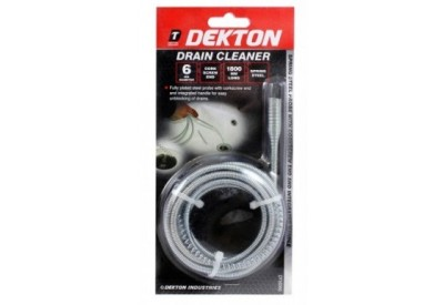 Dekton Drain Cleaner Fully Plated Steel Probe (1800mm long)