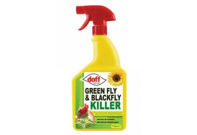 Doff Greenfly & Blackfly Killer Spray (1 litre)