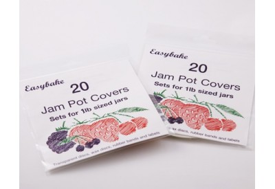 Easybake Jam Pot Covers (1lb) x 20