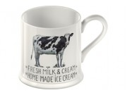 Farmers Market Tankard Mug (Chicken, Cow, Goat or Pig design)