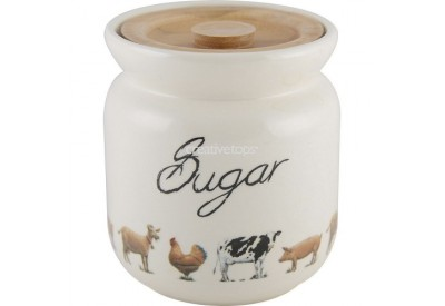 Farmers Market Storage Jar Sugar