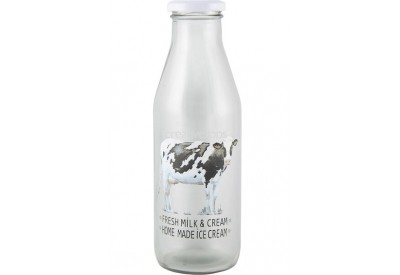 Farmers Market Milk Bottle (65 x 210mm)