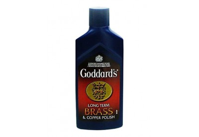 Goddard's Long Term Brass & Copper Polish (125ml)