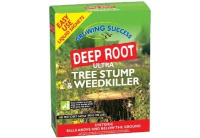 Growing Success Deep Root Ultra Tree Stump & Weedkiller (4 x 100ml sachet)
