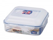Lock & Lock Square Lunchbox 1.7L / 1.8QT / 57OZ (HPL859D)