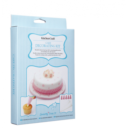 Cake Decorating Kit Of The Month : Kitchen Craft Cake Decorating Kit