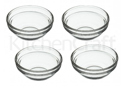 "Kitchen Craft set of 4 Pinch Bowls (7.5cm / 3"" / 55ml)"