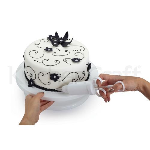 Kitchen Design Cake: Kitchen Craft 'Sweetly Does It' Cake Decorating Turntable