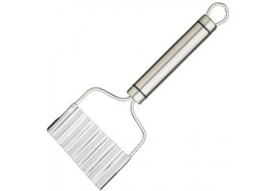Kitchen Craft Stainless Steel Crinkle Chip Cutter