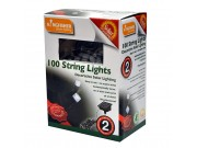 Kingfisher Decorative Solar String Lights x 100 (bright white LEDs)
