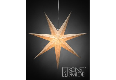 Konstsmide 7 Point Electric Hanging Star
