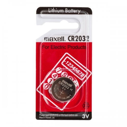 maxwell cr2032 3v lithium battery. Black Bedroom Furniture Sets. Home Design Ideas