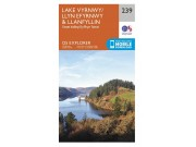 OS Explorer Map 239 - Lake Vyrnway & Llanfyllin including the Tanat Valley (1:25,000 scale)