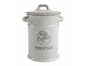 "Pride of Place Coffee Jar OLD GREY (D115 x H180mm / 4.5 x 7"")"