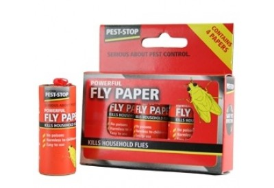 Pest-Stop Fly Paper (pack of 4 papers)