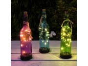 Premier Lit Glass Bottle (Battery Operated, LED)