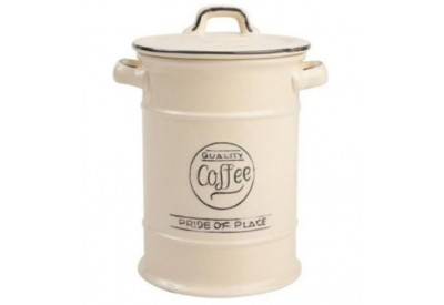 "Pride of Place Coffee Jar OLD CREAM (D115 x H180mm / 4.5 x 7"")"