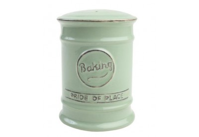 "Pride of Place Baking Shaker OLD GREEN (D80 x H110mm / 3.1 x 4.3"")"