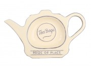 "Pride of Place Tea Bag Tidy OLD CREAM (L165 x W98mm / 6.4 x 3.8"")"