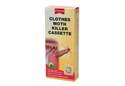 Rentokil Clothes Moth Killer Cassette (4 cassettes)