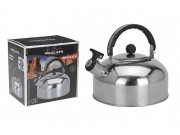 Redcliffs Stainless Steel Camping Whistling Kettle (2.0 Litre)