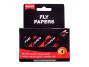 Rentokil Fly Papers (pack of 4)