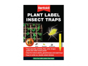 Rentokil Plant Label Insect Traps (10 labels)