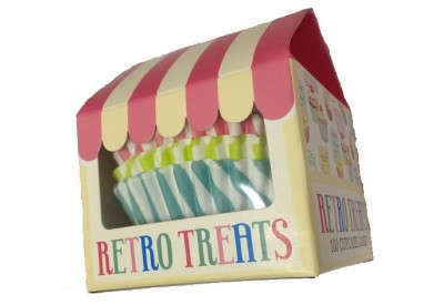 Creative Tops Retro Treats Cupcake Cases x 100