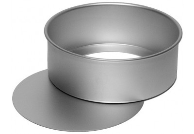 Silverwood Anodised Cake Pan Round with Loose Base (8in / 20cm)