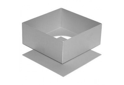Silverwood Anodised Cake Pan Square with Loose Base (12in / 30cm)