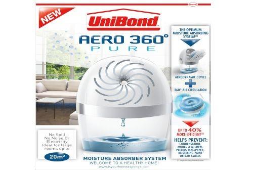 unibond aero 360 pure moisture absorber system. Black Bedroom Furniture Sets. Home Design Ideas