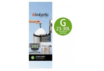 Brabantia Bin Liners 23-30L G