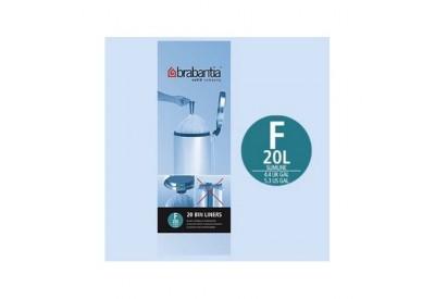 Brabantia Bin Liners Slimline 20L F