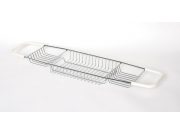 Delfinware Stainless Steel Bath Tray (Size: 53mm x 680mm x 185mm)
