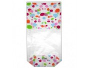 Easybake 12 Confectionery Bags with Ties (100mm x 220mm)