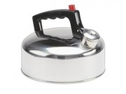 Gelert Stainless Steel Whistling Camping/Household Kettle (2 litre)