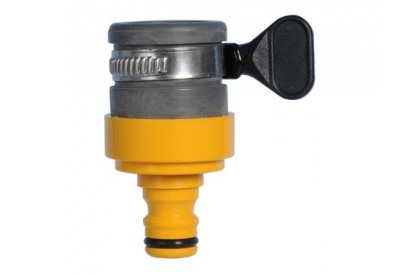 Hozelock Round Tap Connector (18mm Max) 2176